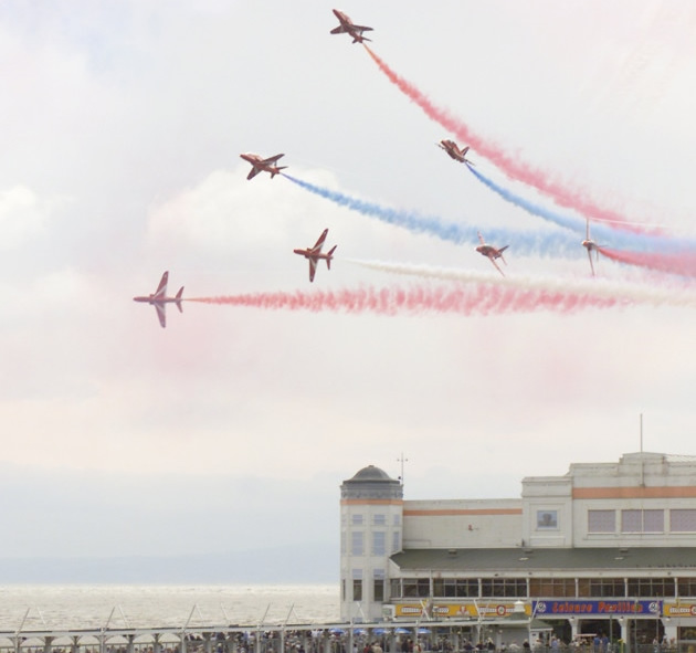 Weston Air Day including the Red Arrows Saturday 22 June 11am - 6pm